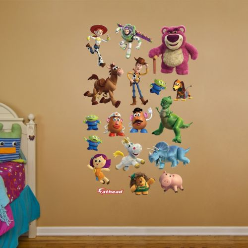 Disney / Pixar Toy Story 3 Collection Wall Decals by Fathead