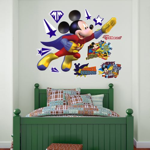 Disney's Mickey Mouse Super Adventure Wall Decals by Fathead