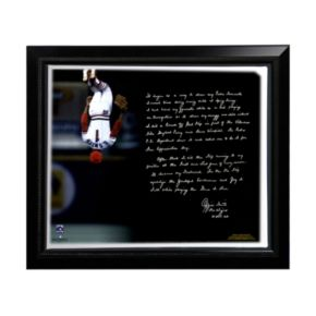 """Steiner Sports St. Louis Cardinals Ozzie Smith Flip Facsimile 22"""" x 26"""" Framed Stretched Story Canvas"""