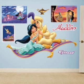 Disney's Aladdin & Jasmine Magic Carpet Wall Decals by Fathead
