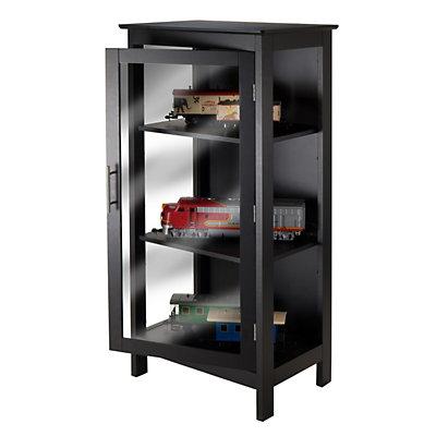 Winsome Poppy 3-Shelf Display Cabinet