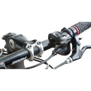M-Wave Black Cobra Red LED Bike Light