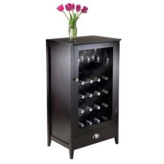 Winsome Bordeaux 20-Bottle Wine Cabinet