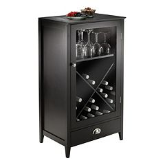 Winsome Bordeaux 24-Bottle Wine Cabinet