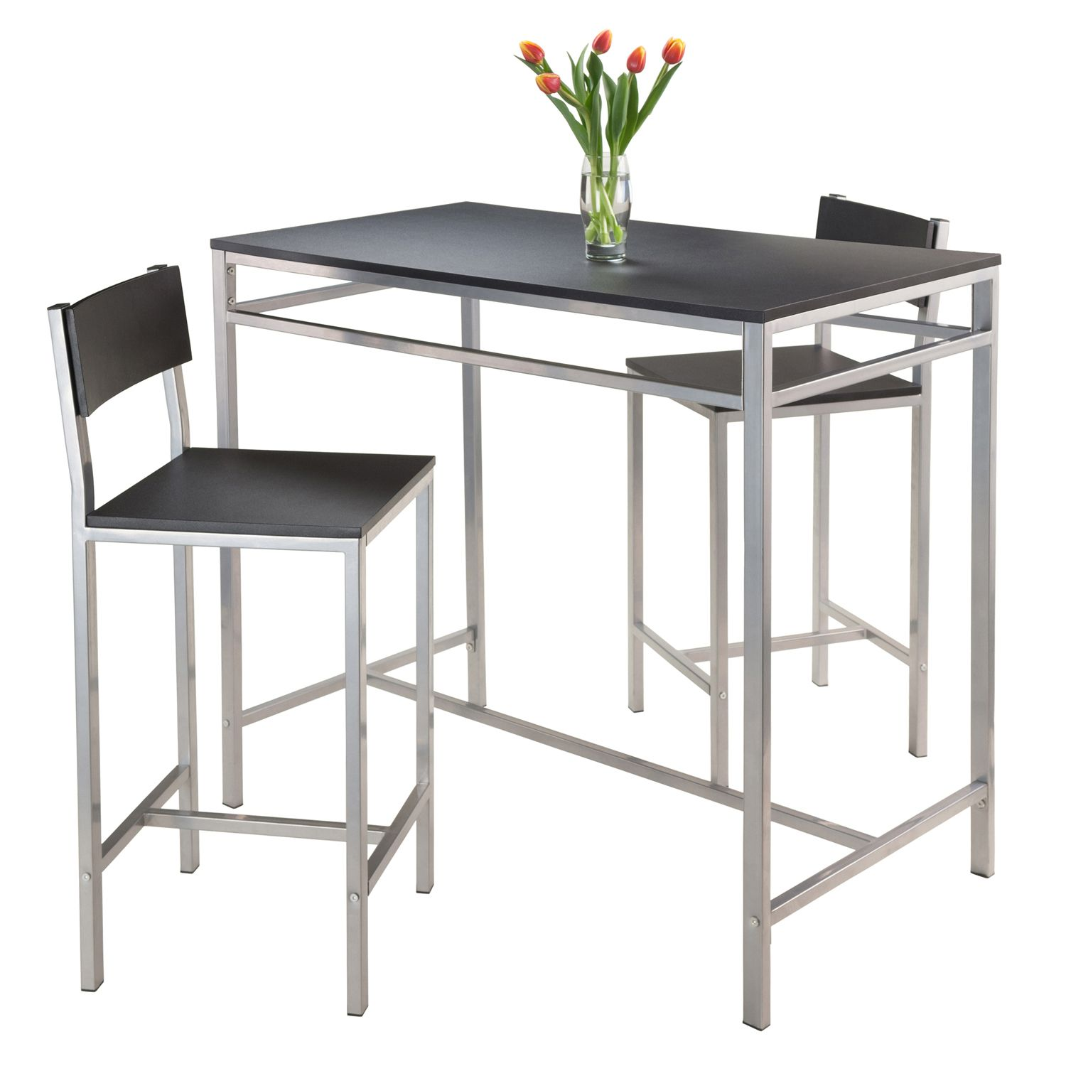 Winsome 3 Piece Hanley Dining Set
