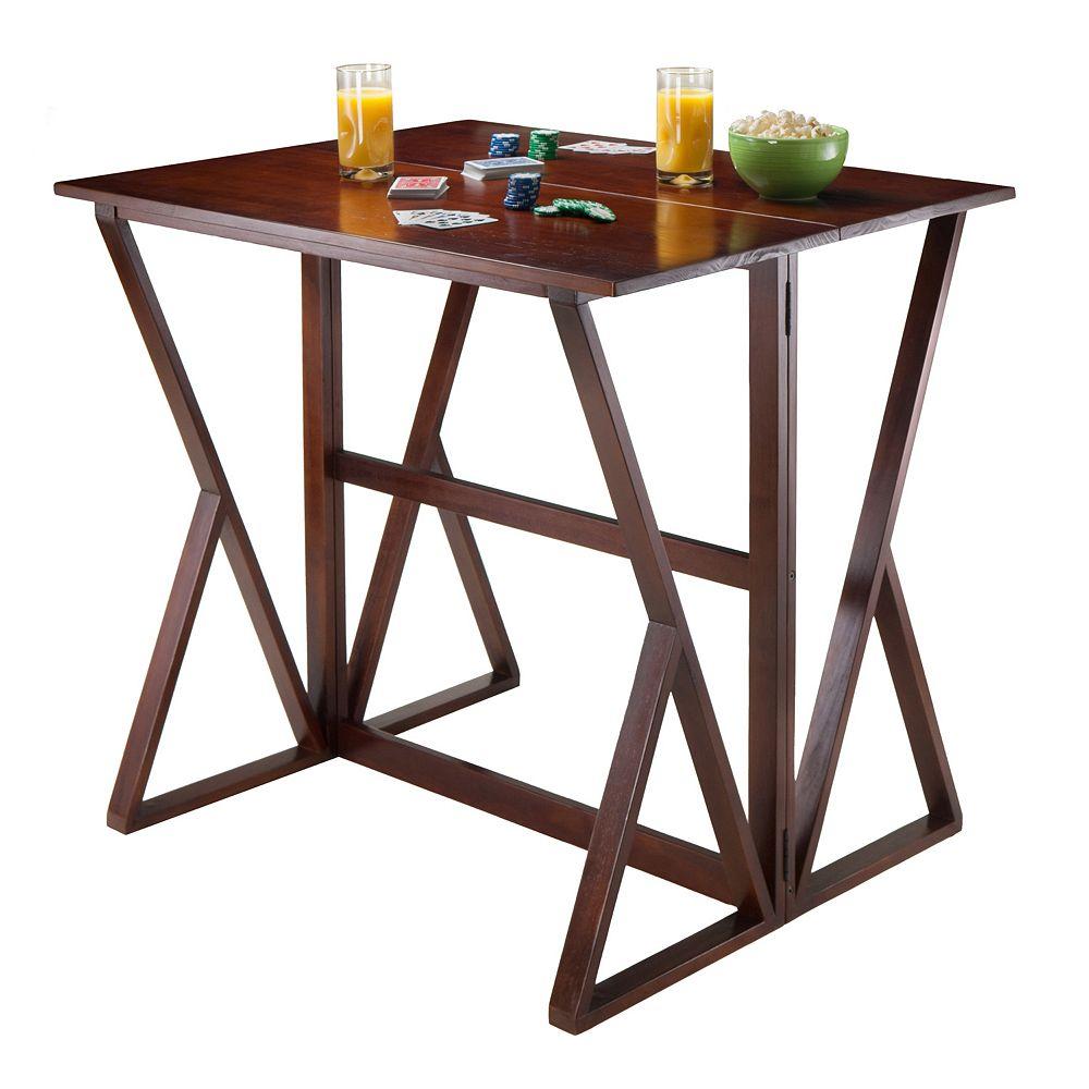 Winsome Harrington Drop Leaf High Table