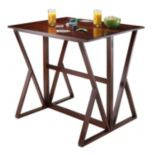 Winsome Harrington Drop Leaf High Table