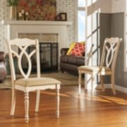 HomeVance 2-piece Hillston Dining Chair Set