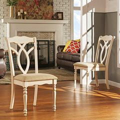 HomeVance 2 pc Hillston Dining Chair Set
