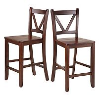 Winsome 2 pc Victor Counter Stool Set