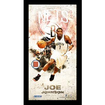 Steiner Sports Brooklyn Nets Joe Johnson 10