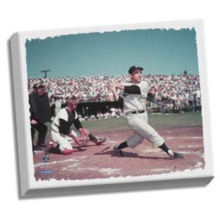 "Steiner Sports New York Yankees Yogi Berra Swing 22"" x 26"" Stretched Canvas"