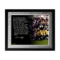 Steiner Sports Notre Dame Fighting Irish Lou Holtz College Football Playoffs Facsimile 16