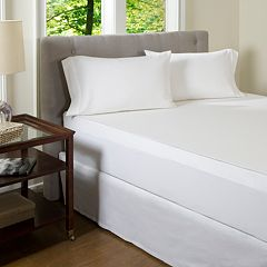 Solid 300 Thread Count Egyptian Cotton Mattress Topper Cover
