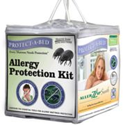 Protect-A-Bed 4 pc Allergy Protection Kit