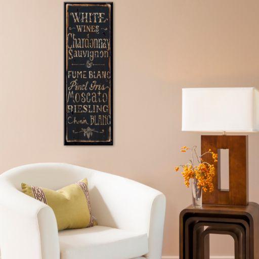 "Art.com ""White Wines"" Mounted Art Print"