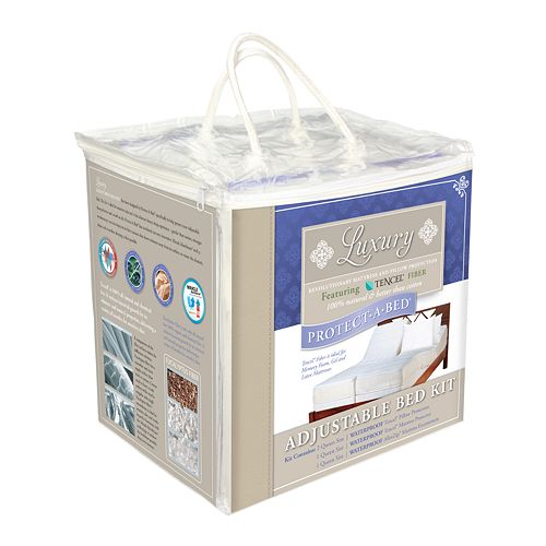 Protect-A-Bed Luxury Adjustable Bed Kit