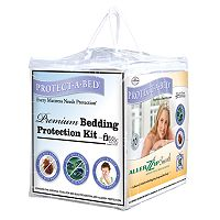 Protect-A-Bed 3 pc Premium Bedding Protection Kit