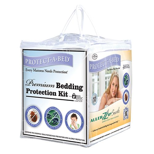 Protect-A-Bed 3-pc. Premium Bedding Protection Kit