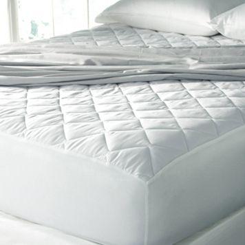 Sealy 300-Thread Count Cotton Sateen Mattress Pad