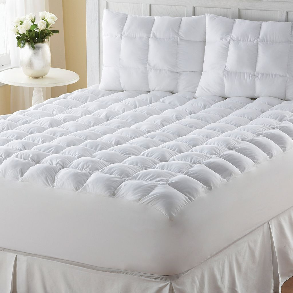 Down-Alternative Deep-Pocket Mattress Pad