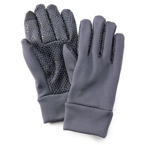 Tek Gear® Stretch Lined Texting Gloves - Men