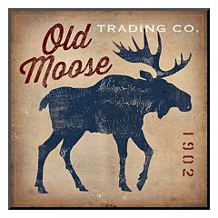 Art.com 'Old Moose Trading Co.' Mounted Art Print