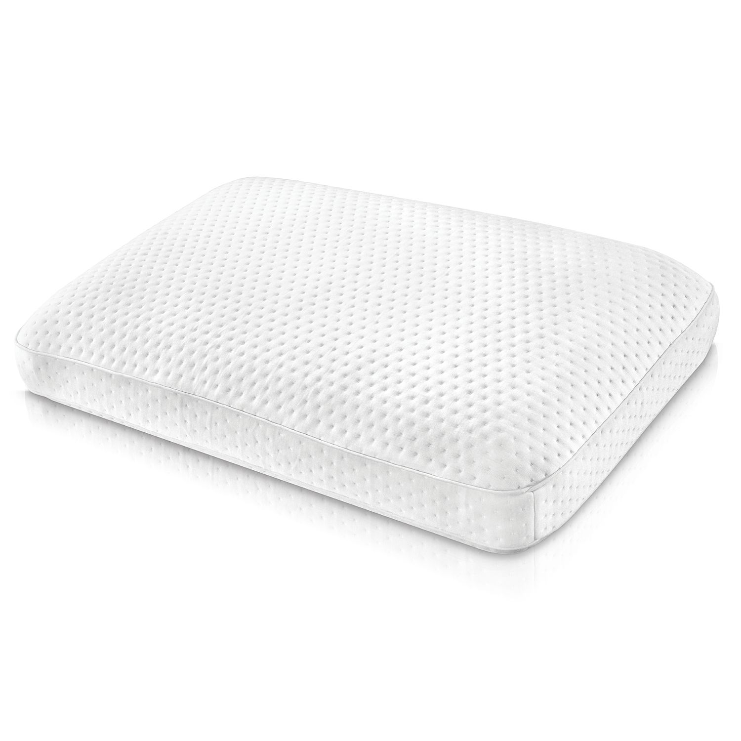 sensorpedic luxury memory foam pillow