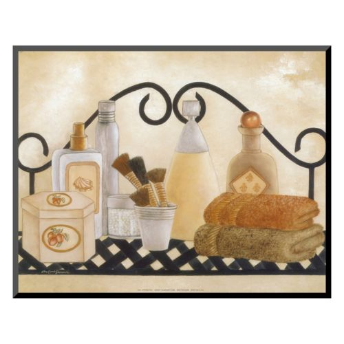 Art.com Bath Shelf II Mounted Art Print