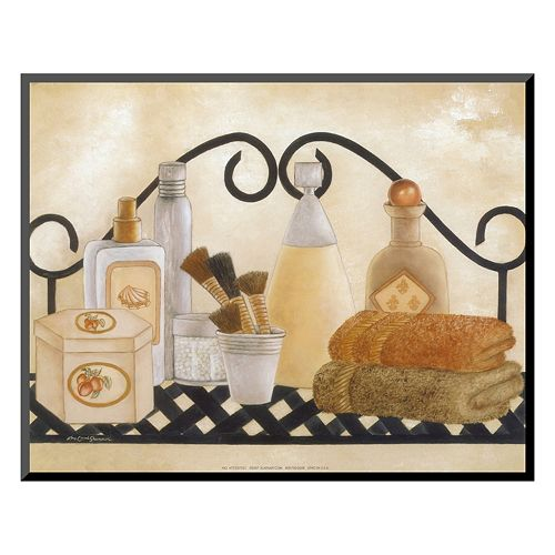 "Art.com ""Bath Shelf II"" Mounted Art Print"