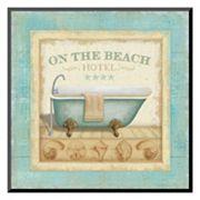 Art.com 'Beach Hotel I' Mounted Art Print