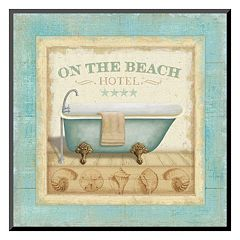 Art.com 'Beach Hotel I' Mounted Art Print