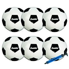 Franklin Sports Competition 100 Soccer Ball Team Pack