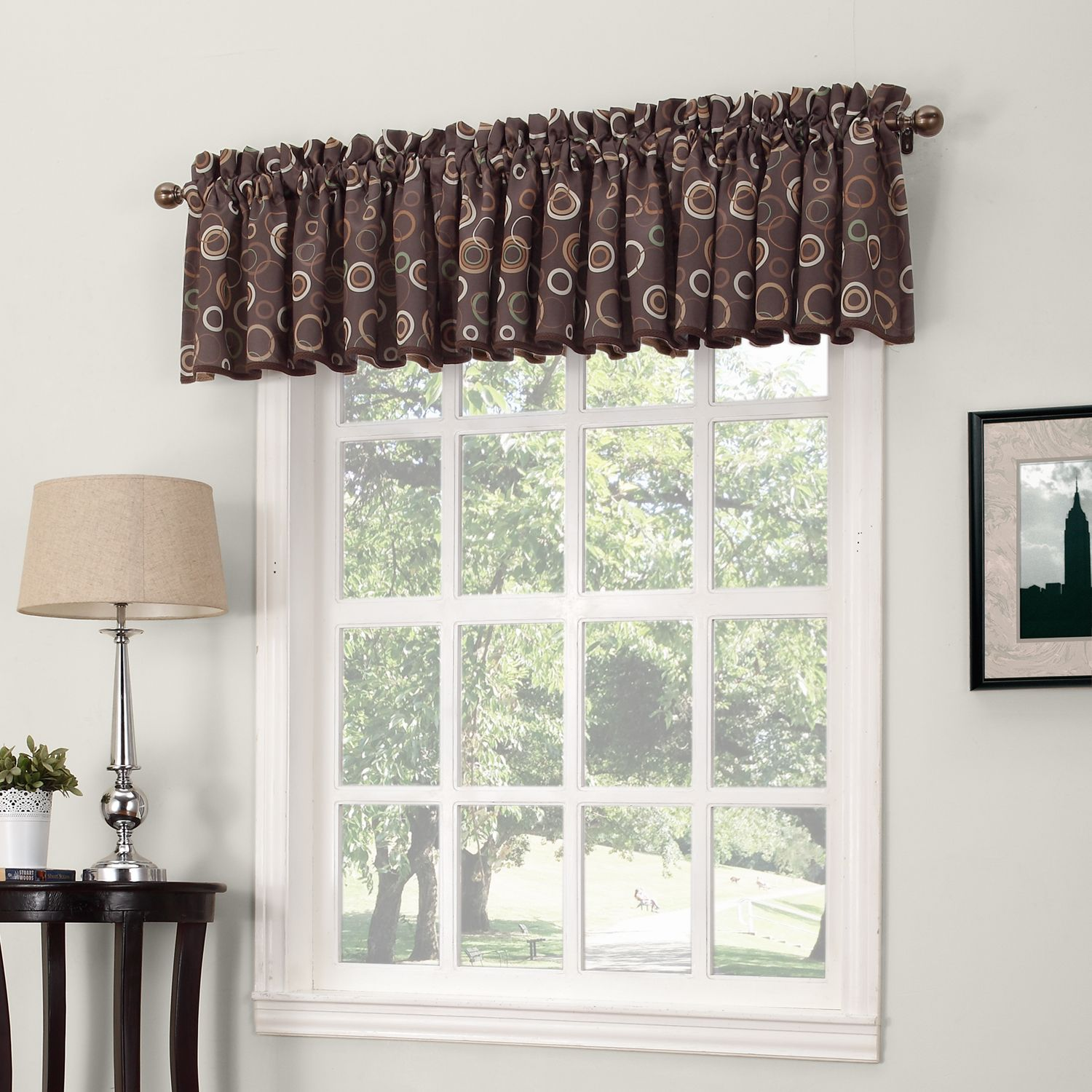 Sun Zero Galaxy Room Darkening Window Valance   54u0027u0027 X 18u0027u0027
