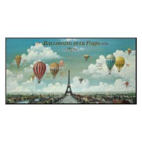"Art.com ""Ballooning Over Paris"" Wall Art"