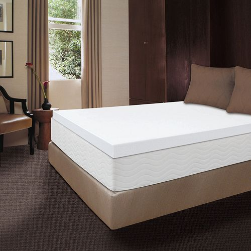 Dream Therapy 4 Inch Memory Foam Mattress Topper