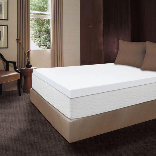 Dream Therapy 4-inch Memory Foam Mattress Topper