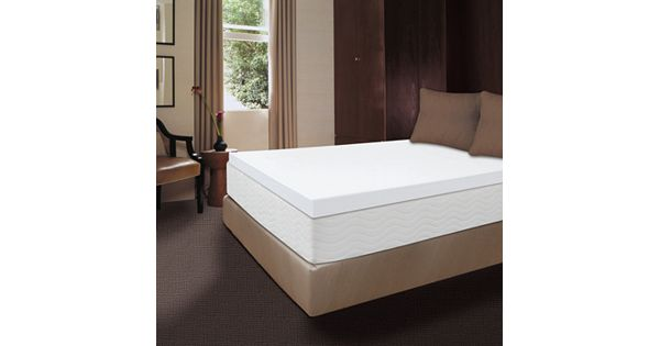 Dream Therapy 4 In Memory Foam Mattress Topper
