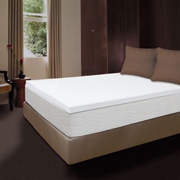 Dream Therapy 1 1/2-inch Memory Foam Mattress Topper