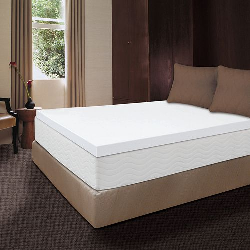 Dream Therapy 2-inch Memory Foam Mattress Topper