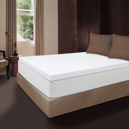 Dream Therapy 2-inch Memory Foam Mattress Topper