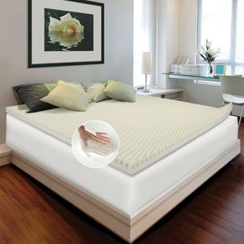 Enhance Comfort Loft 4-inch Memory Foam Mattress Topper