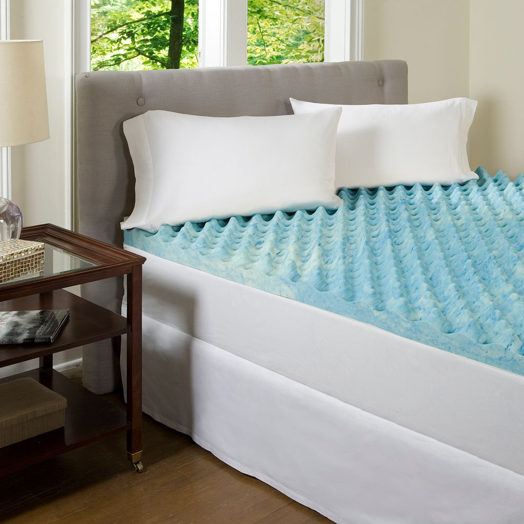 ComforPedic Beautyrest Big Comfort 3-in. Gel Memory Foam Mattress Topper