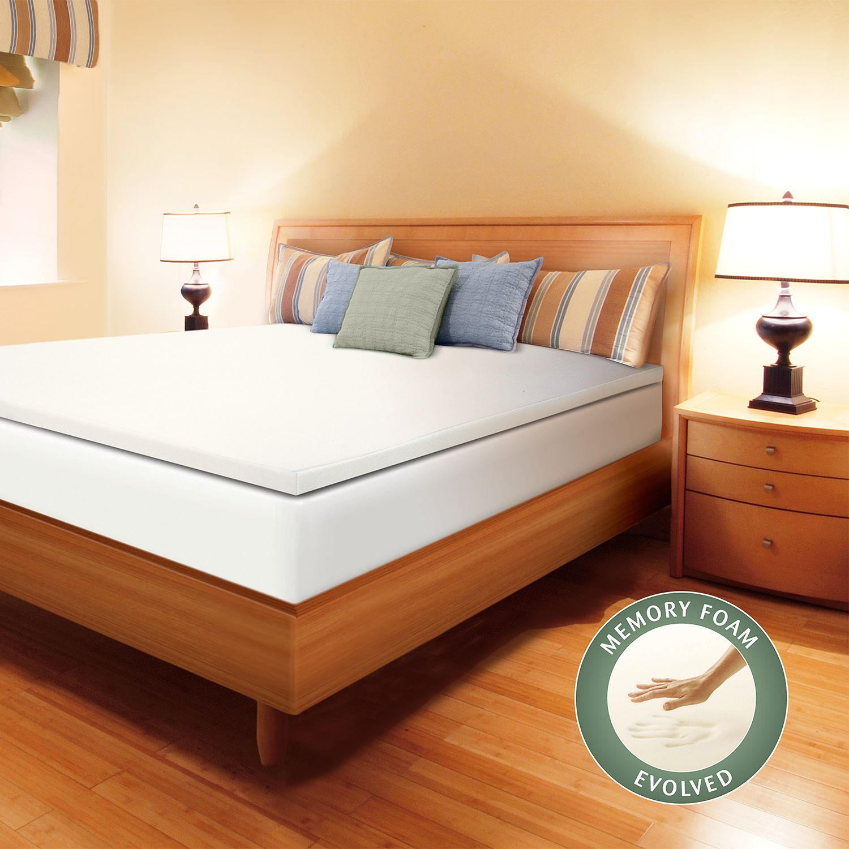 enhance 1 12inch memory foam mattress topper
