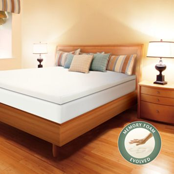 Enhance 3-inch Memory Foam Mattress Topper