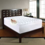 Memory Foam & Fiber 3 1/2-inch Mattress Topper