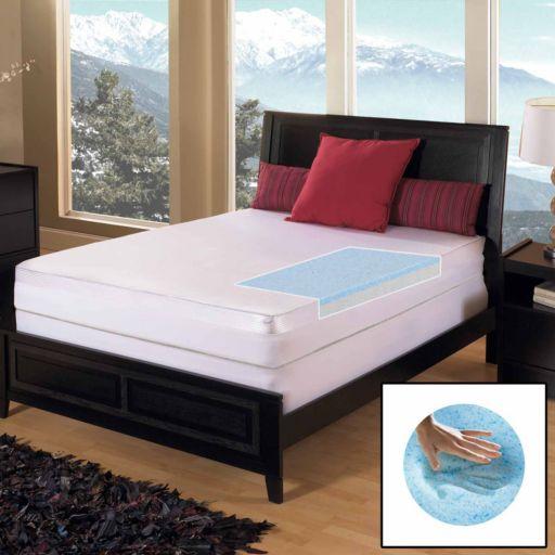 Gel Memory Foam Select 3-inch Mattress Topper