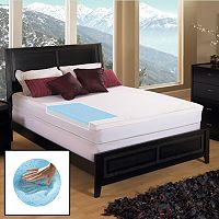 Gel Memory Foam 3-in. Mattress Topper