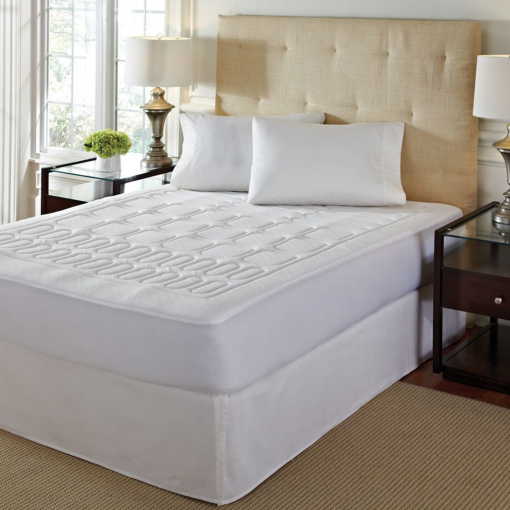 Geometric 1-in. Memory Foam Mattress Topper