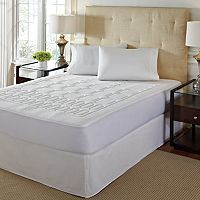 Geometric 1-inch Memory Foam Mattress Topper
